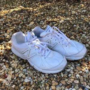 NWOB White New Balance tennis shoes